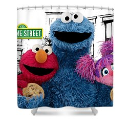 Sesame Street Shower Curtain