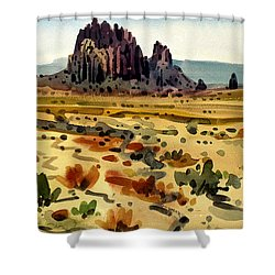 Shiprock Shower Curtain