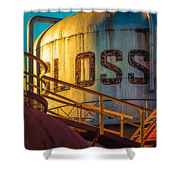 Sloss Furnaces Shower Curtain by Phillip Burrow