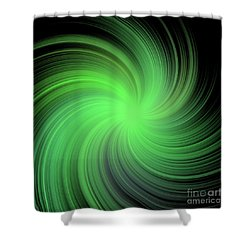 Spiral Shower Curtain by Michal Boubin