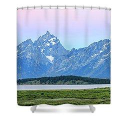 Spotless Sunrise Shower Curtain