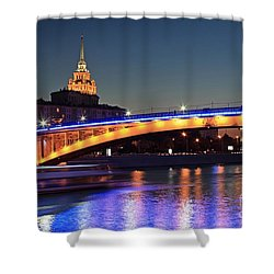 Moscow River Shower Curtain