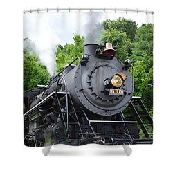 Steam Engline Number 630 Shower Curtain