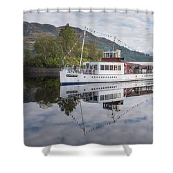 Steamship Sir Walter Scott On Loch Katrine Shower Curtain