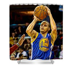 Steph Curry Collection Shower Curtain