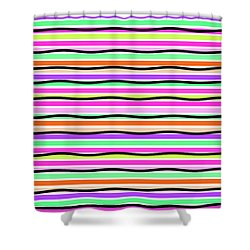 Stripes Shower Curtain