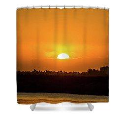 Sunrise  Shower Curtain by Nance Larson