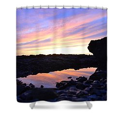 Reflection Of Painted Sky Shower Curtain