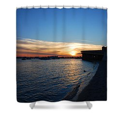 Shower Curtain featuring the photograph 2- Sunset In Paradise by Joseph Keane