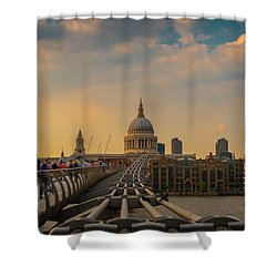 Shower Curtain featuring the photograph Thames View by Stewart Marsden