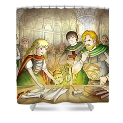 The Articles Of The Barons Shower Curtain