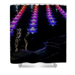 Shower Curtain featuring the photograph The Colors Of The Voyage by Mark Dodd