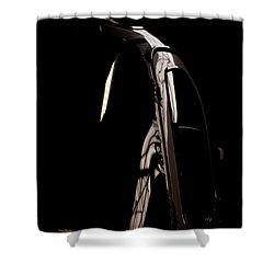 The Door Shower Curtain by Paul Job