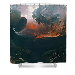 The Great Day Of His Wrath Shower Curtain