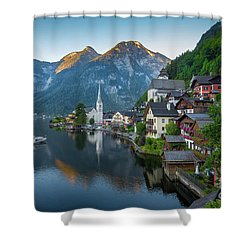 The Pearl Of Austria Shower Curtain