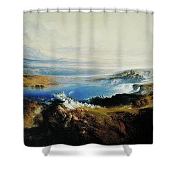 The Plains Of Heaven Shower Curtain