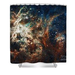 The Tarantula Nebula Shower Curtain