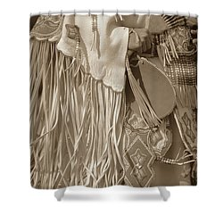 Traditional Dancer Shower Curtain