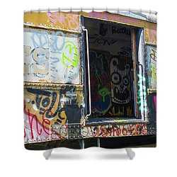 Shower Curtain featuring the photograph Train Art by Dart and Suze Humeston