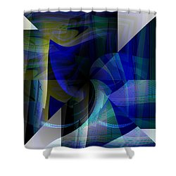 Transparency 4   Shower Curtain by Thibault Toussaint