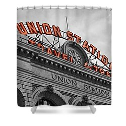 Union Station - Denver  Shower Curtain