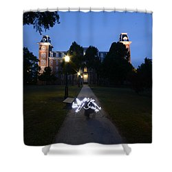 University Of Arkansas Shower Curtain