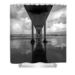 Untitled Shower Curtain by Ryan Weddle