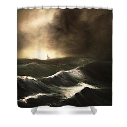 Untitled Shower Curtain by Stephen Roberson