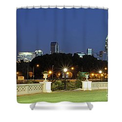 Uptown Charlotte, North Carolina Shower Curtain