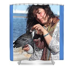 Shower Curtain featuring the photograph Wake Of The Flood by Jesse Ciazza