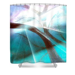 Wake Up In The Forest Shower Curtain