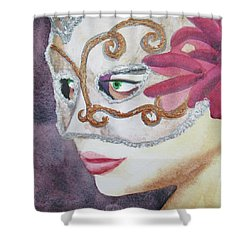 #2 Warrior Queen Shower Curtain