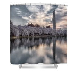 Washington Sunrise Shower Curtain