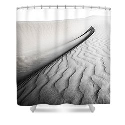 Wave Theory Vi Shower Curtain by Ryan Weddle