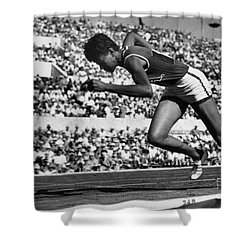 Wilma Rudolph (1940-1994) Shower Curtain by Granger
