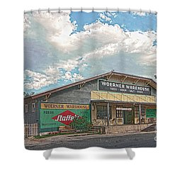 Woerner Warehouse Shower Curtain