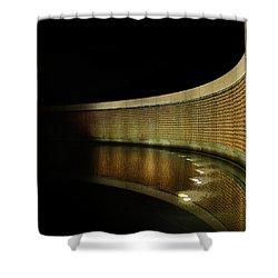 World War II Memorial - Stars Shower Curtain