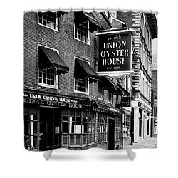 Ye Olde Union Oyster House Shower Curtain by L O C
