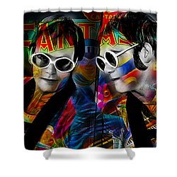 Elton John Collection Shower Curtain by Marvin Blaine
