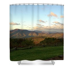 Kevin Blackburn Nature Photography Shower Curtain