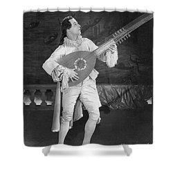 Rudolph Valentino Shower Curtain by Granger