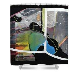 200 Percent Shower Curtain by Antonio Ortiz