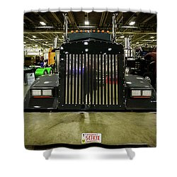 2000 Kenworth W900 Shower Curtain