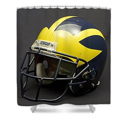2000s Era Wolverine Helmet Shower Curtain