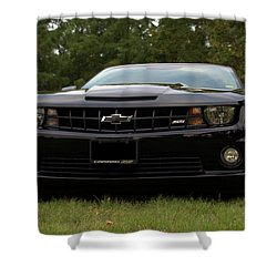2010 Camaro Ss Shower Curtain by Tim McCullough