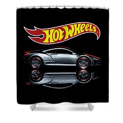 Shower Curtain featuring the photograph 2012 Acura Nsx by James Sage