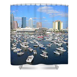 2013 Gasparilla Pirate Fest Shower Curtain by David Lee Thompson