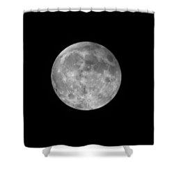 2015 Super Moon Shower Curtain