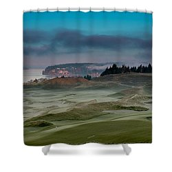 2015 Us Open - Chambers Bay Vi Shower Curtain