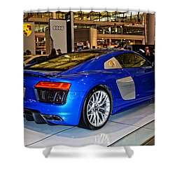 2016 Audi R8 Shower Curtain
